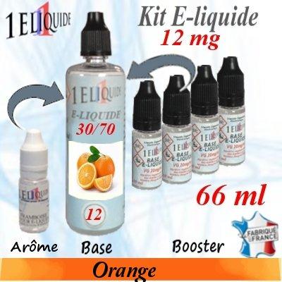 E-liquide-Orange-12mg 30/70