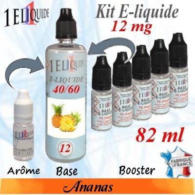 E-liquide-Ananas-12mg 40/60