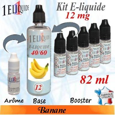 E-liquide-Banane-12mg 40/60