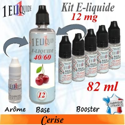 E-liquide-Cerise-12mg 40/60