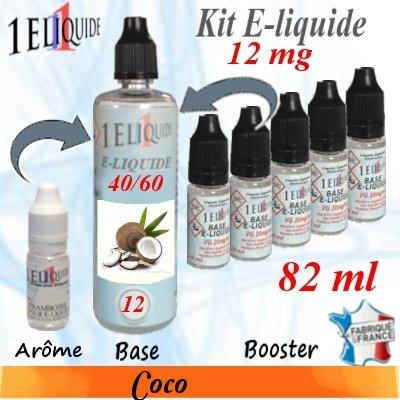 E-liquide-Coco-12mg 40/60