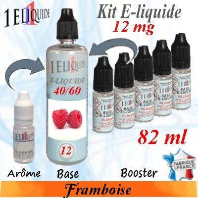 E-liquide-Framboise-12mg 40/60