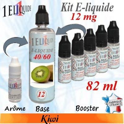 E-liquide-Kiwi-12mg 40/60