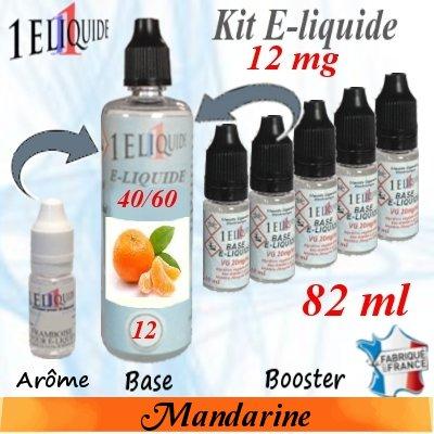 E-liquide-Mandarine-12mg 40/60