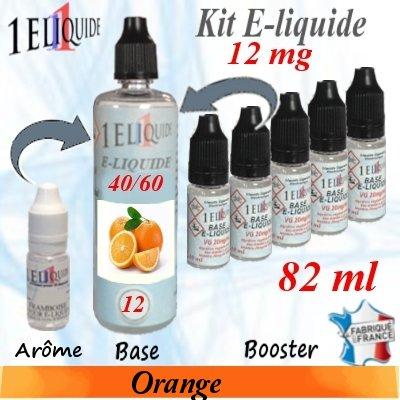 E-liquide-Orange-12mg 40/60