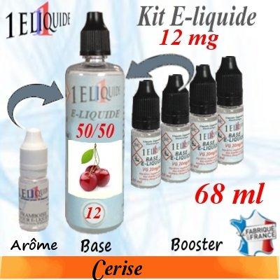 E-liquide-Cerise-12mg 50/50