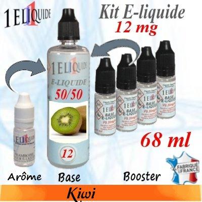 E-liquide-Kiwi-12mg 50/50