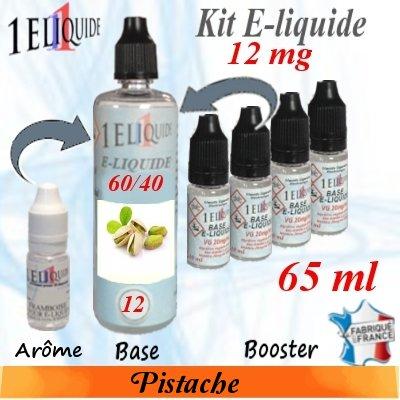 E-liquide-Pistache-12mg 60/40