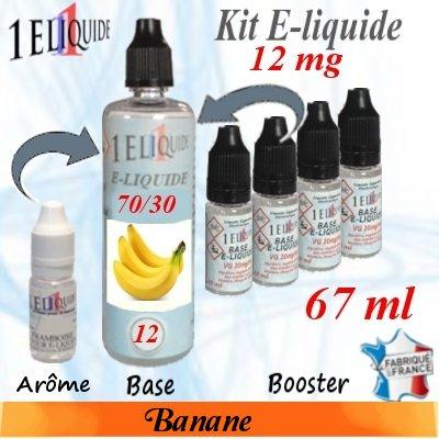 E-liquide-Banane-12mg 70/30