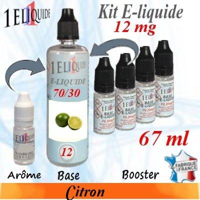 E-liquide-Citron-12mg 70/30