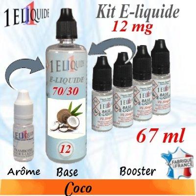 E-liquide-Coco-12mg 70/30
