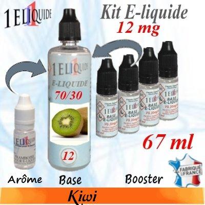 E-liquide-Kiwi-12mg 70/30