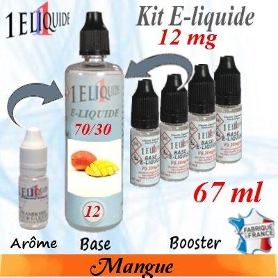 E-liquide-Mangue-12mg 70/30