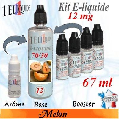 E-liquide-Melon-12mg 70/30