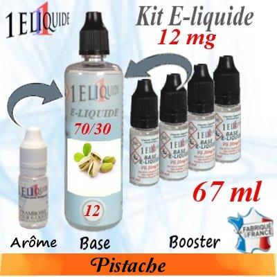 E-liquide-Pistache-12mg 70/30