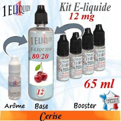 E-liquide-Cerise-12mg 80/20