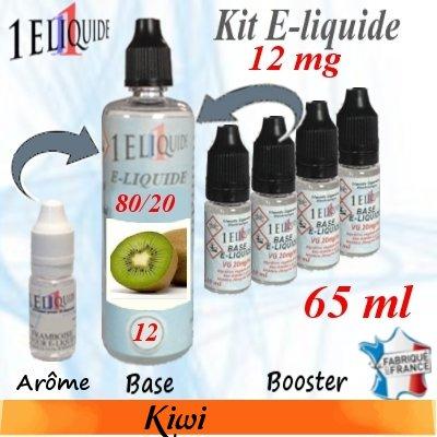 E-liquide-Kiwi-12mg 80/20