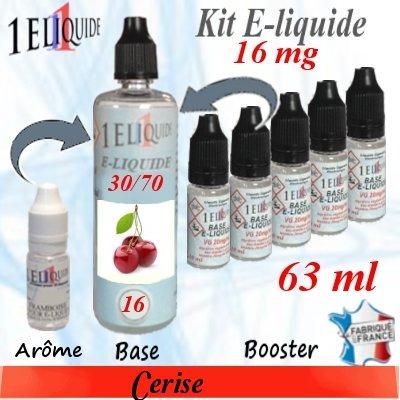 E-liquide-Cerise-16mg 30/70