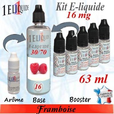 E-liquide-Framboise-16mg 30/70