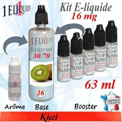 E-liquide-Kiwi-16mg 30/70