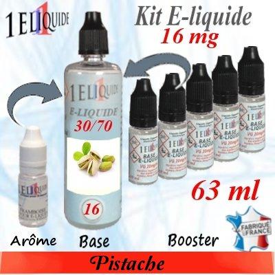 E-liquide-Pistache-16mg 30/70