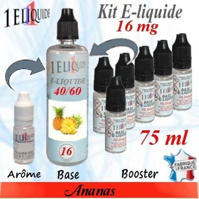 E-liquide-Ananas-16mg 40/60