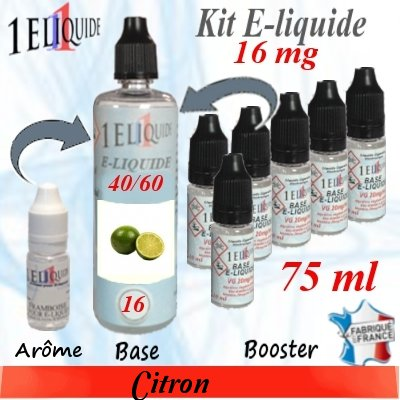 E-liquide-Citron-16mg 40/60