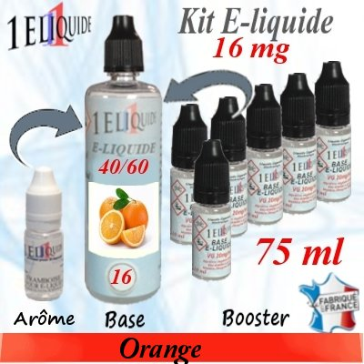 E-liquide-Orange-16mg 40/60