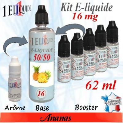 E-liquide-Ananas-16mg 50/50