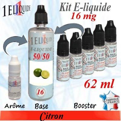 E-liquide-Citron-16mg 50/50