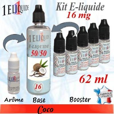 E-liquide-Coco-16mg 50/50