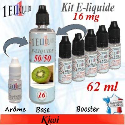 E-liquide-Kiwi-16mg 50/50