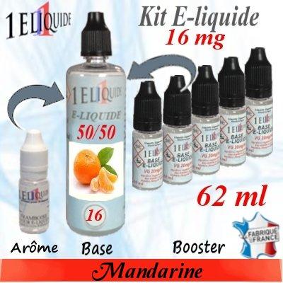 E-liquide-Mandarine-16mg 50/50