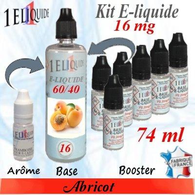 E-liquide-Abricot-16mg 60/40