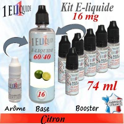 E-liquide-Citron-16mg 60/40