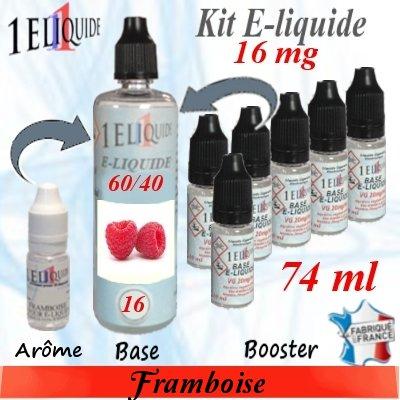 E-liquide-Framboise-16mg 60/40