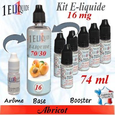 E-liquide-Abricot-16mg 70/30