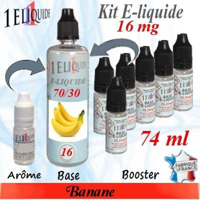 E-liquide-Banane-16mg 70/30