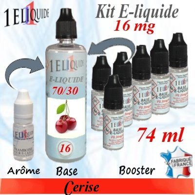 E-liquide-Cerise-16mg 70/30