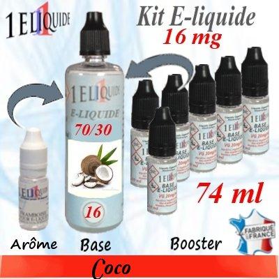 E-liquide-Coco-16mg 70/30