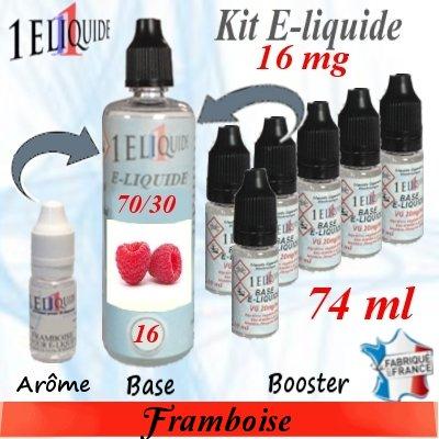 E-liquide-Framboise-16mg 70/30