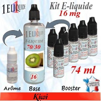 E-liquide-Kiwi-16mg 70/30