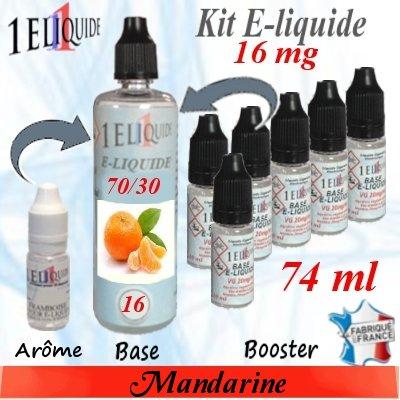 E-liquide-Mandarine-16mg 70/30