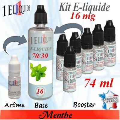 E-liquide-Menthe-16mg 70/30