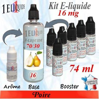 E-liquide-Poire-16mg 70/30