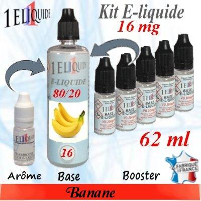 E-liquide-Banane-16mg 80/20
