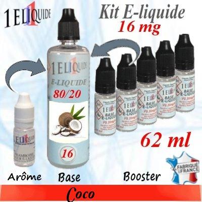 E-liquide-Coco-16mg 80/20