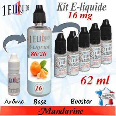 E-liquide-Mandarine-16mg 80/20