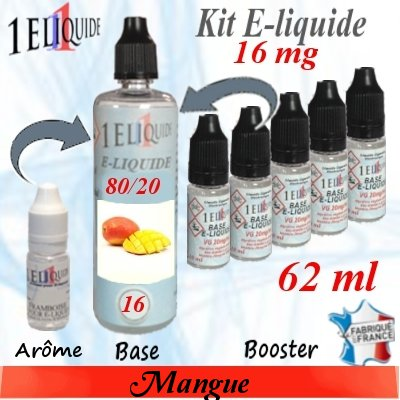 E-liquide-Mangue-16mg 80/20