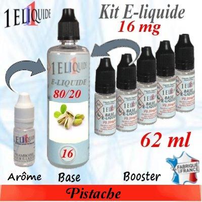 E-liquide-Pistache-16mg 80/20